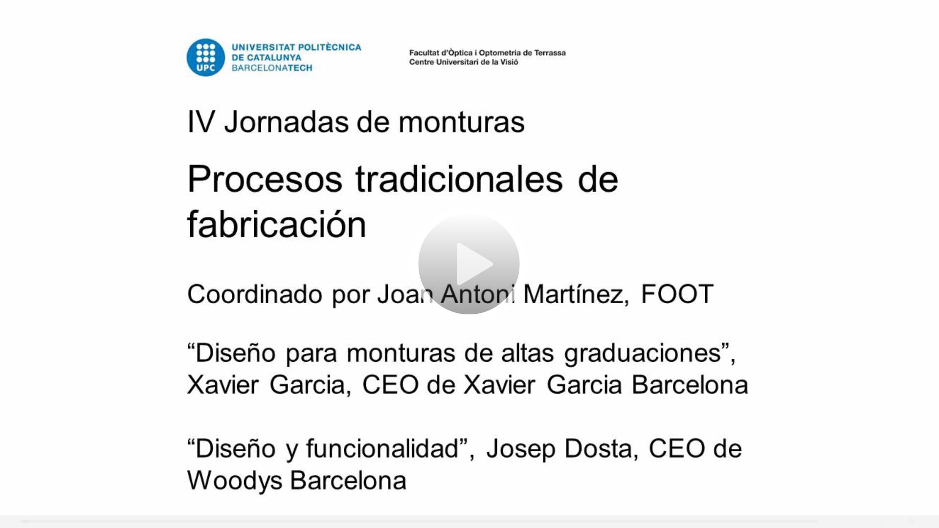 Jmuntures2017_procesos_tradicionals(XavierGarcia_Woodys)